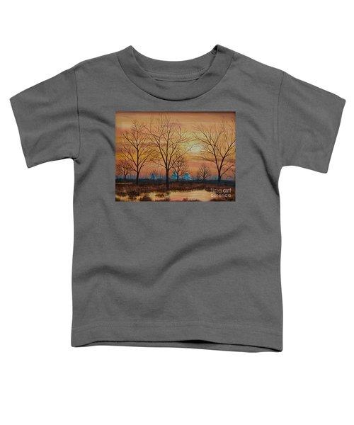 Patomac River Sunset Toddler T-Shirt
