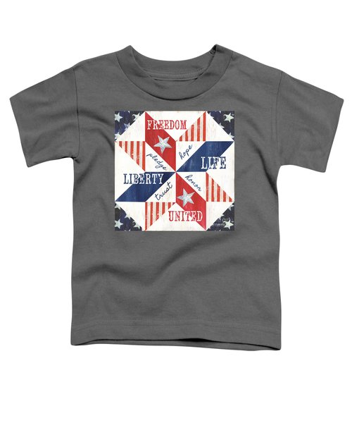 Patriotic Quilt 1 Toddler T-Shirt