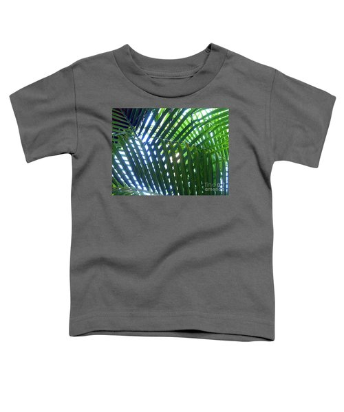 Patterned Palms Toddler T-Shirt