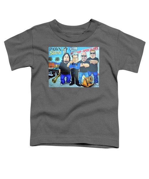 Pawn Stars In Las Vegas Toddler T-Shirt