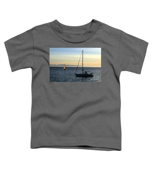 Peaceful Day In Santa Barbara Toddler T-Shirt