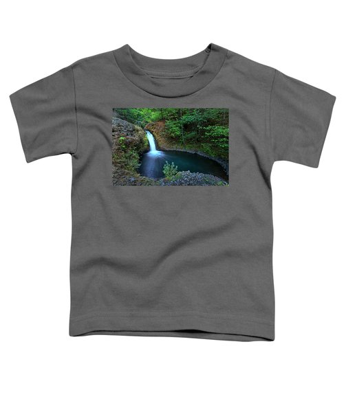 Peaceful Pool On Big Buck Creek Toddler T-Shirt