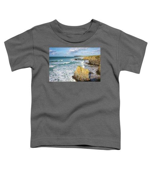 Peaceful Waves Toddler T-Shirt
