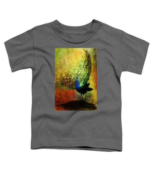 Peacock In Full Color Toddler T-Shirt