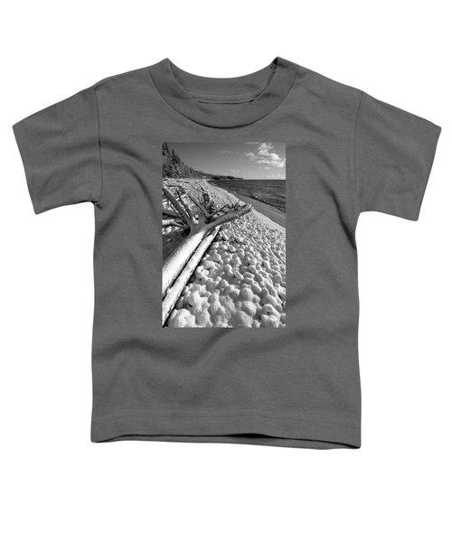 Pebble Beach Winter Toddler T-Shirt