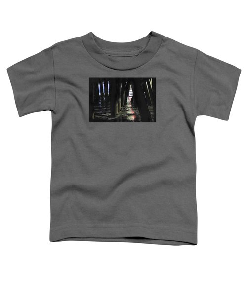 Toddler T-Shirt featuring the photograph Peeking by Lora Lee Chapman