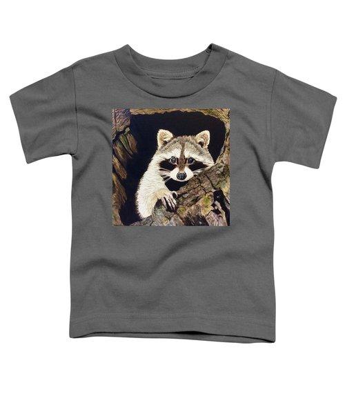 Peeking Out Toddler T-Shirt