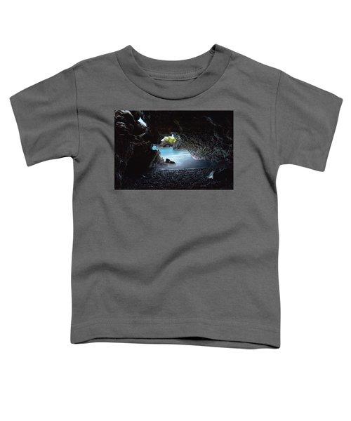 Peeking Through The Lava Tube Toddler T-Shirt