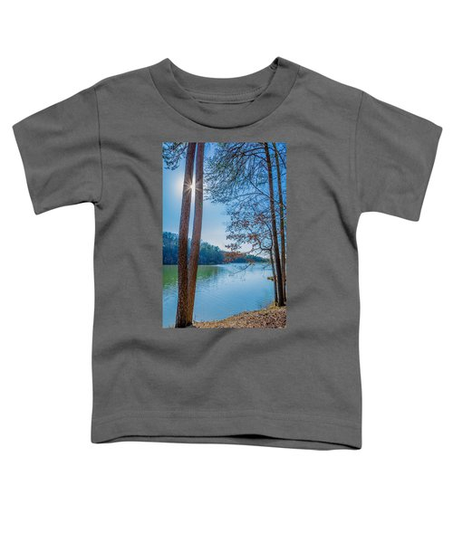 Peeping Sun Toddler T-Shirt