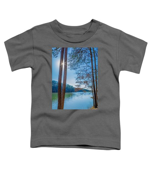 Peeping Sun Toddler T-Shirt