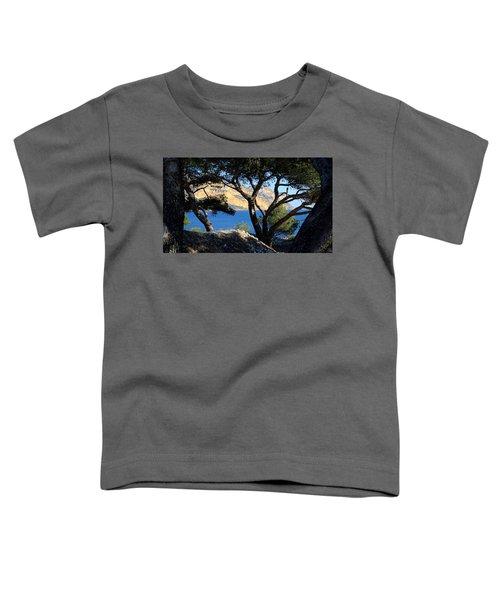 Peeping Through Pines Toddler T-Shirt