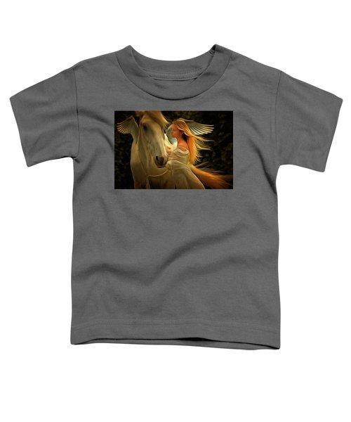 Pegasus Or Angel Toddler T-Shirt