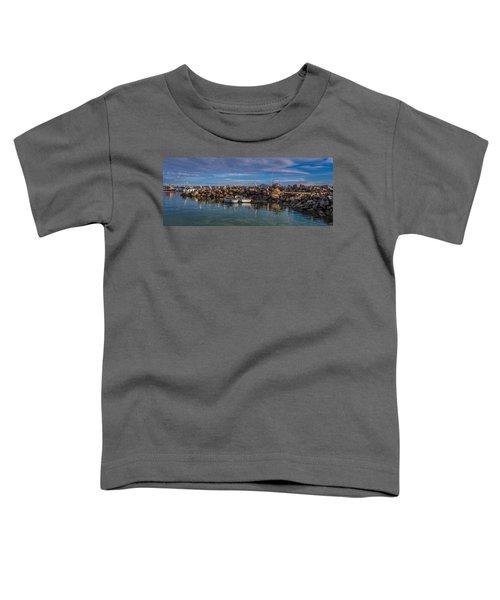 Pelicans At Eden Wharf Toddler T-Shirt