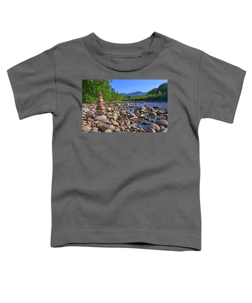 Pemigewasset River, North Woodstock Nh Toddler T-Shirt