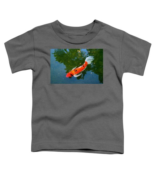 Pensive Koi Toddler T-Shirt