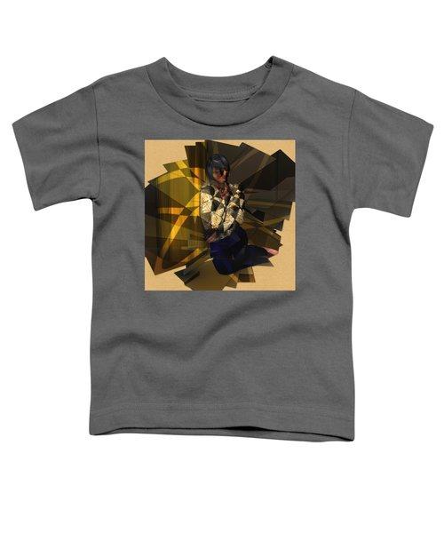 Pensive Woman Toddler T-Shirt