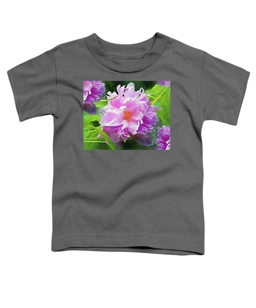 Peony Cluster 7 Toddler T-Shirt