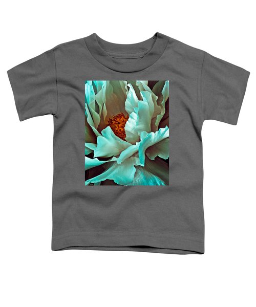 Peony Flower Toddler T-Shirt