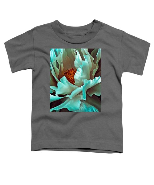 Peony Flower Toddler T-Shirt