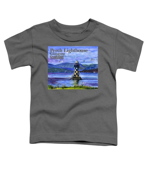 Perch Lighthouse Scotland Toddler T-Shirt