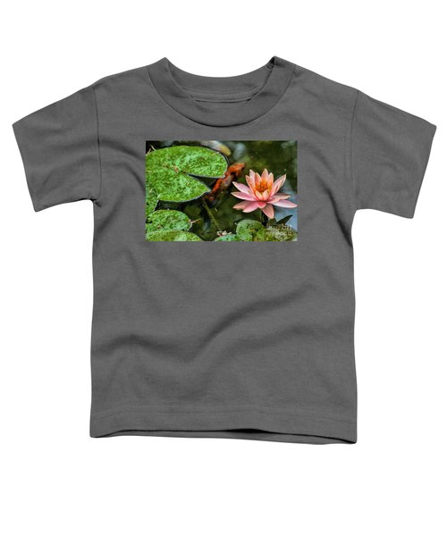 Perfect Beauty And Koi Companion Toddler T-Shirt
