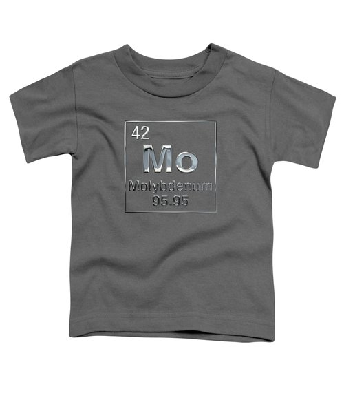 Periodic Table Of Elements - Molybdenum - Mo Toddler T-Shirt