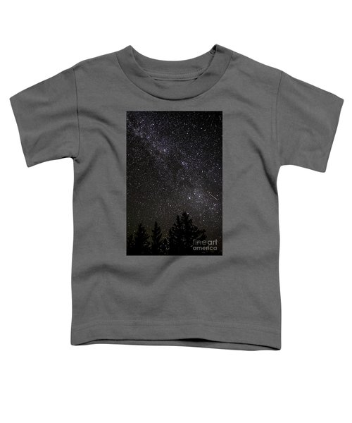 Perseid Meteor And Milky Way Toddler T-Shirt