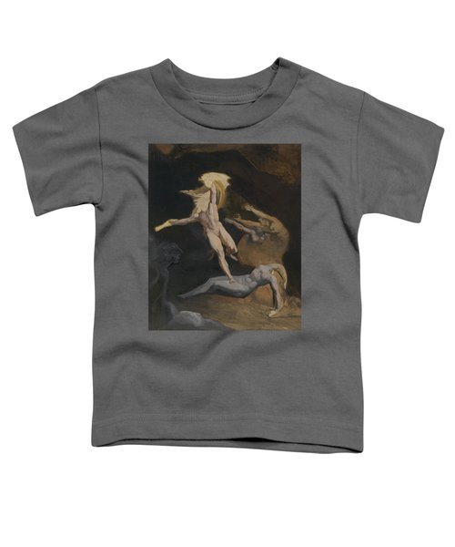 Perseus Slaying The Medusa Toddler T-Shirt by Henry Fuseli