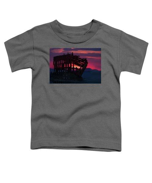 Peter Iredale Shipwreck Toddler T-Shirt