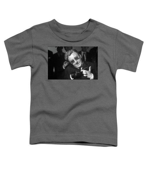 Peter Sellers As Dr. Strangelove Number One Color Added 2016 Toddler T-Shirt
