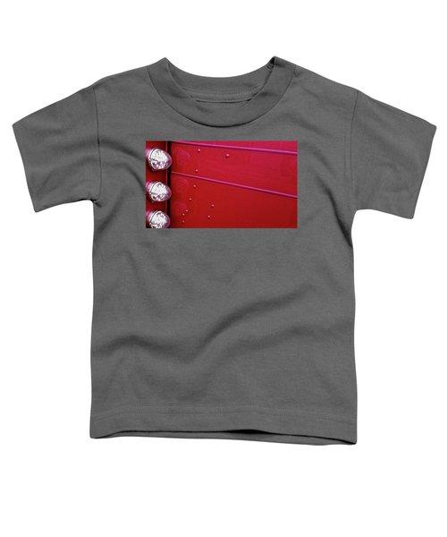 Peterbuilt Hood And Lamps Toddler T-Shirt