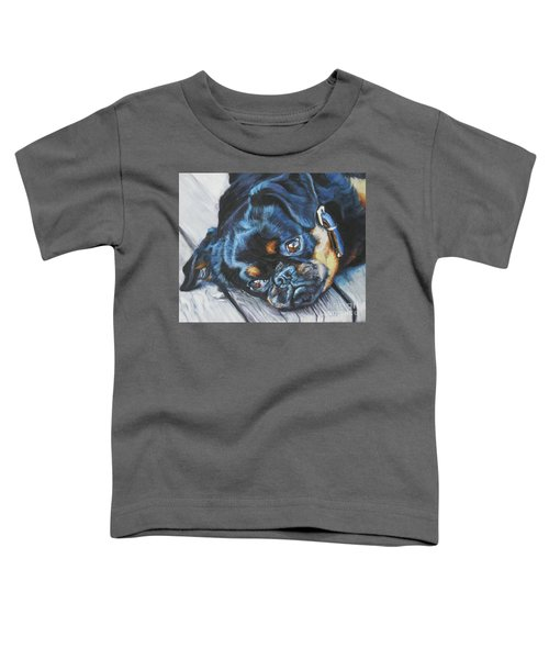 Petit Brabancon Brussels Griffon Toddler T-Shirt by Lee Ann Shepard
