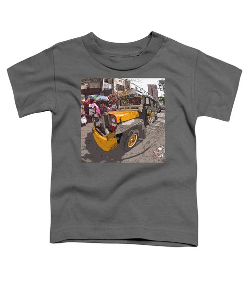 Philippines 1261 Jeepney Toddler T-Shirt