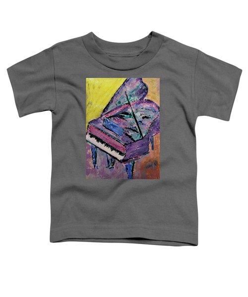 Piano Pink Toddler T-Shirt