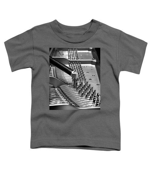 Piano Tuning Bw Toddler T-Shirt