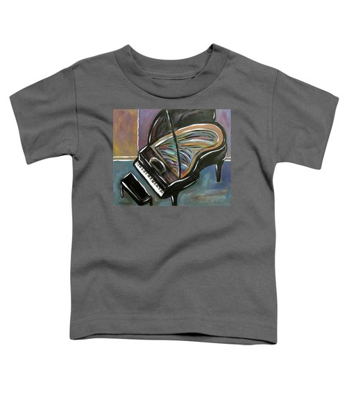 Piano With High Heel Toddler T-Shirt