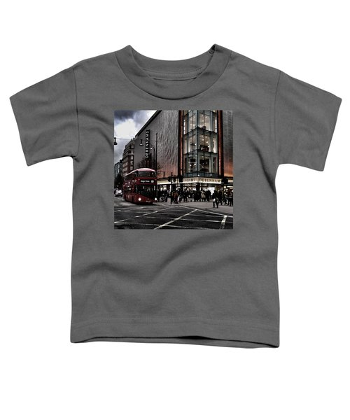 Piccadilly Circus Toddler T-Shirt