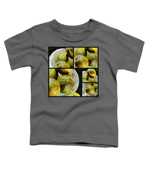 Pieces Of Lime Collage Toddler T-Shirt