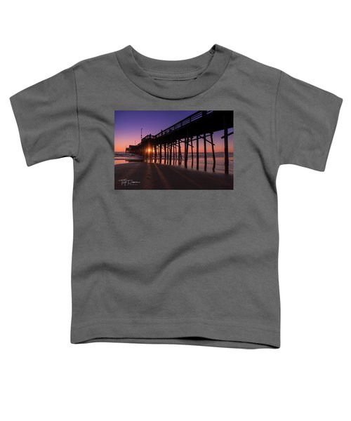 Pier In Purple Toddler T-Shirt