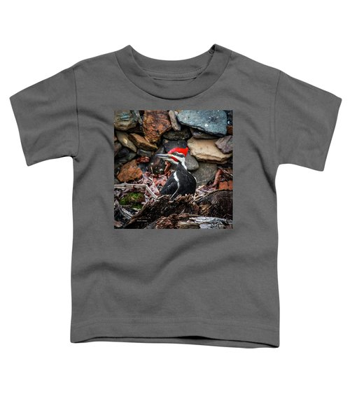 Pileated Pete Toddler T-Shirt