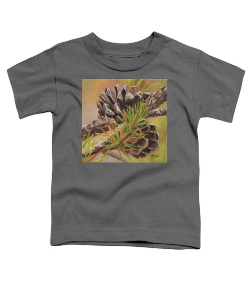 Pine Cones Toddler T-Shirt