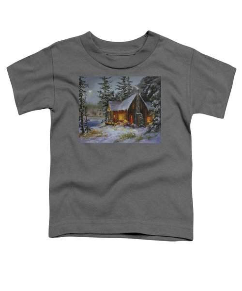 Pine Cove Cabin Toddler T-Shirt