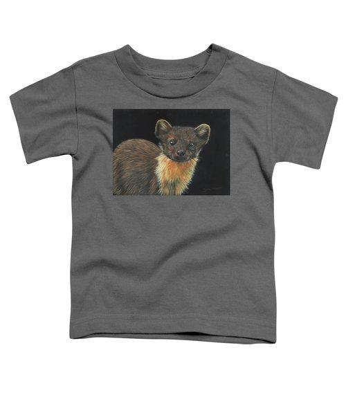 Pine Marten Toddler T-Shirt