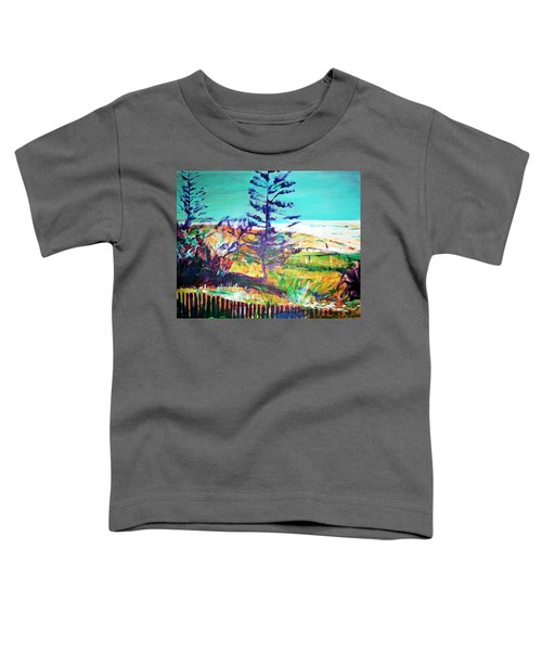 Pine Tree Pandanus Toddler T-Shirt by Winsome Gunning