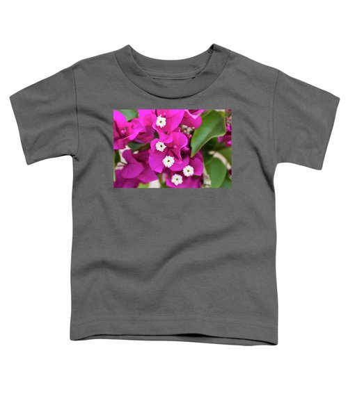 Pink And White Flowers Toddler T-Shirt
