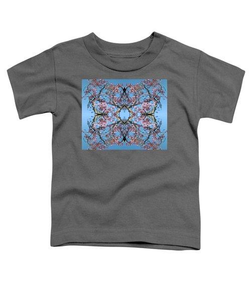 Pink Blossom Mandala Toddler T-Shirt