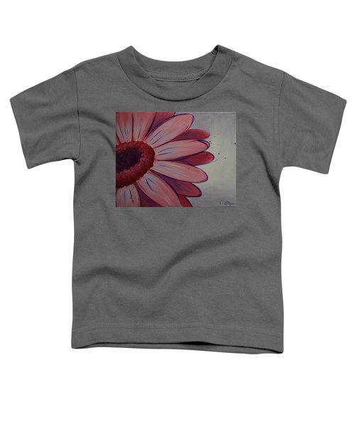 Pink Daisy Toddler T-Shirt