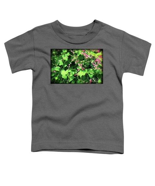 Pink Flowering Vine2 Toddler T-Shirt