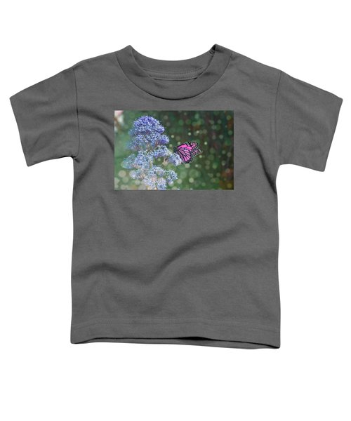 Toddler T-Shirt featuring the photograph Pink Lady by Alison Frank