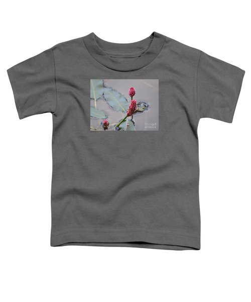 Pink Lily Pad Toddler T-Shirt